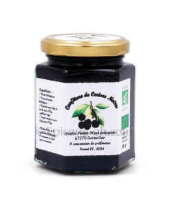 Confiture de cerises noir