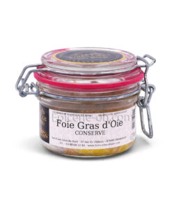 Conserve foie gras oie artisanal