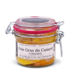 Conserve foie gras canard