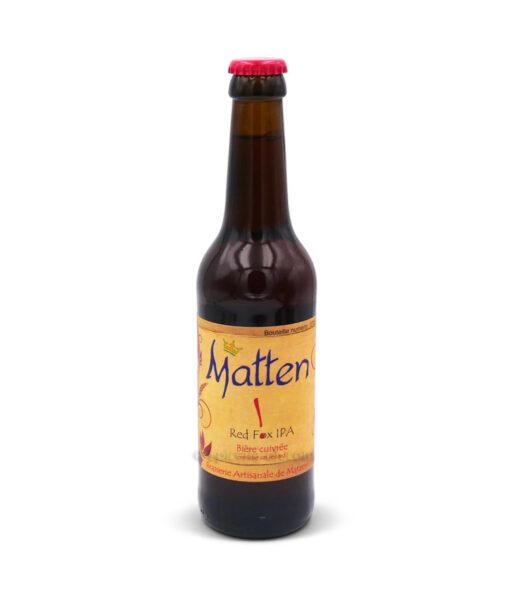 Bière cuivrée Red Fox IPA 33cl
