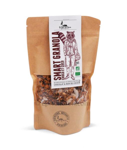 Smart granola choco coco