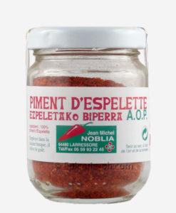 Venez goûter les saveurs du Pays Basque avec cette poudre de piment d'Espelette en direct producteur.
