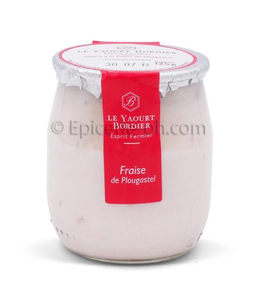 Yaourt fraise bordier
