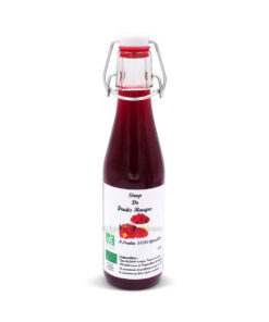 Sirop de fruits rouges