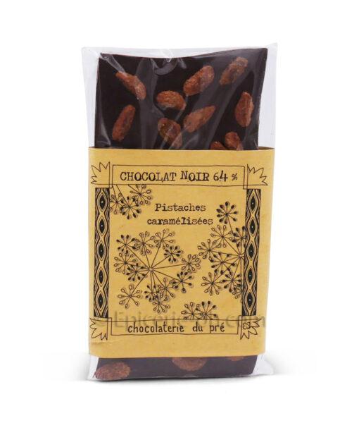 Tablette chocolat pistaches