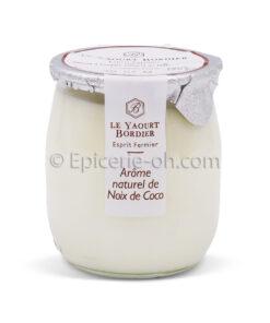 Yaourt noix de coco bordier
