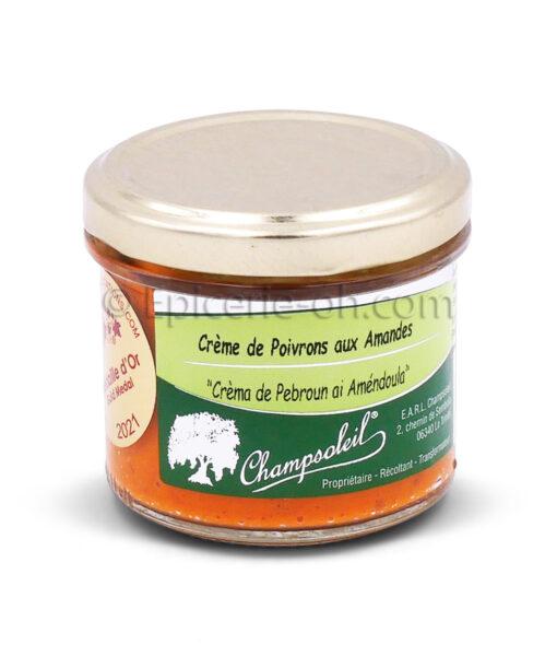 crème poivrons amandes
