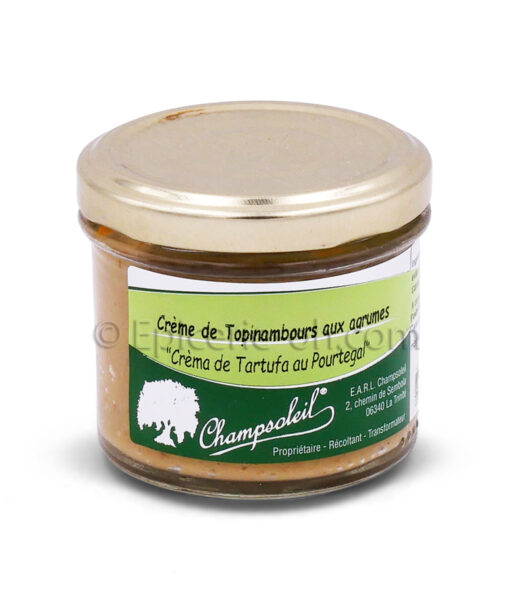 creme topinambours aux agrumes