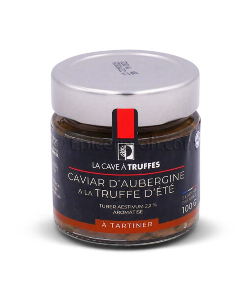 Caviar d'aubergines à la truffe