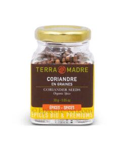 Coriandre en graines