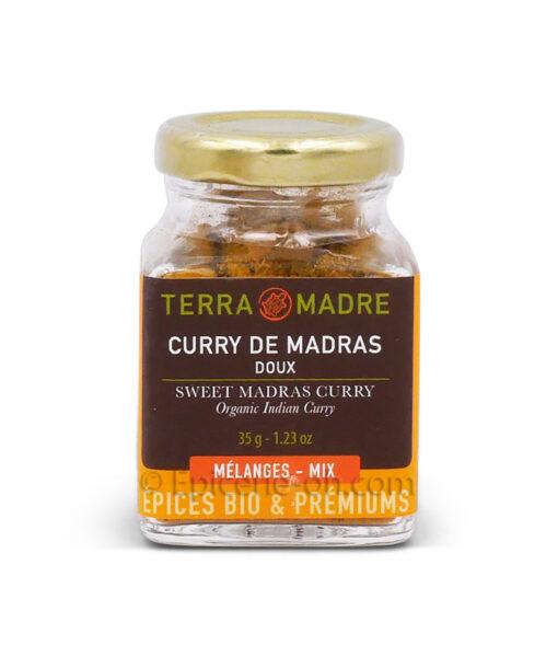 Curry de madras doux