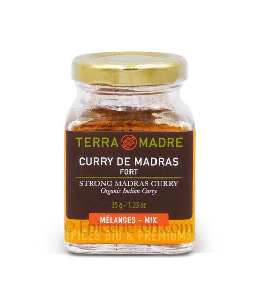 Curry de Madras fort